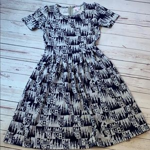 NWOT Lularoe x Disney Amelia dress